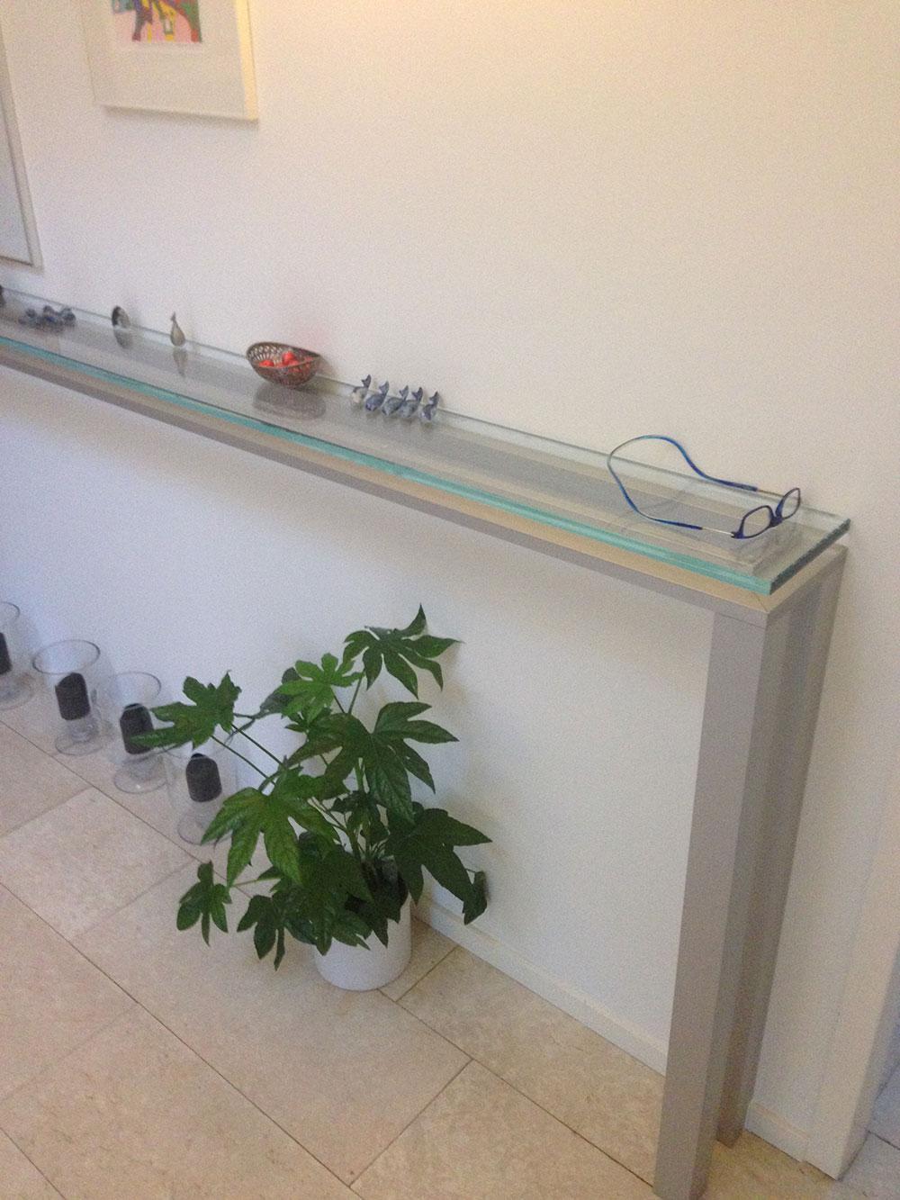 Glazen meubel ontworpen door u, uitgevoerd door ons!