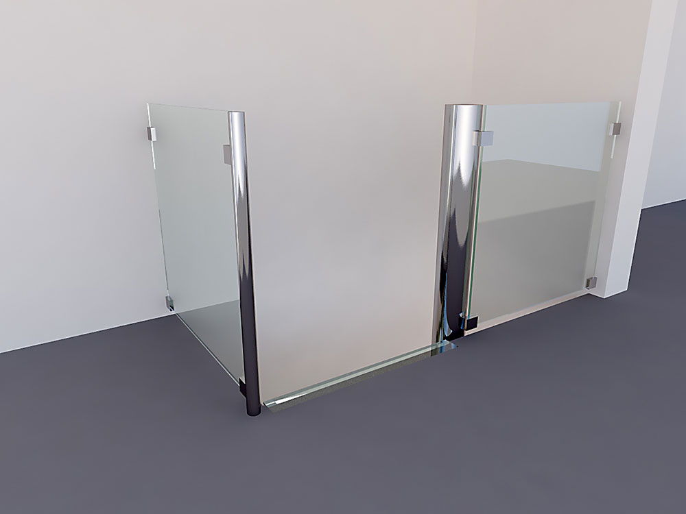 Glazen trap van glas treden design ontwerpen dutch - Trap ontwerpen ...