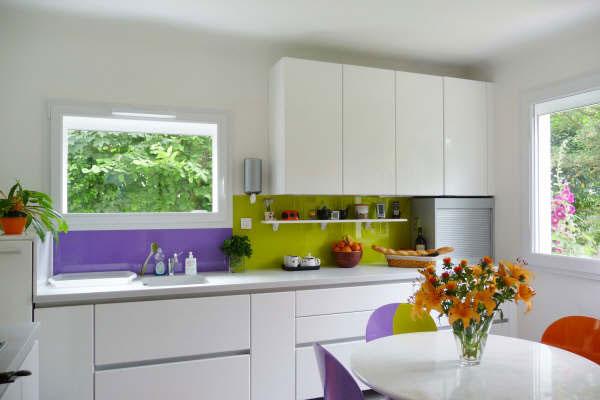 Een keuken achterwand van glas, op maat gemaakt, strak design!