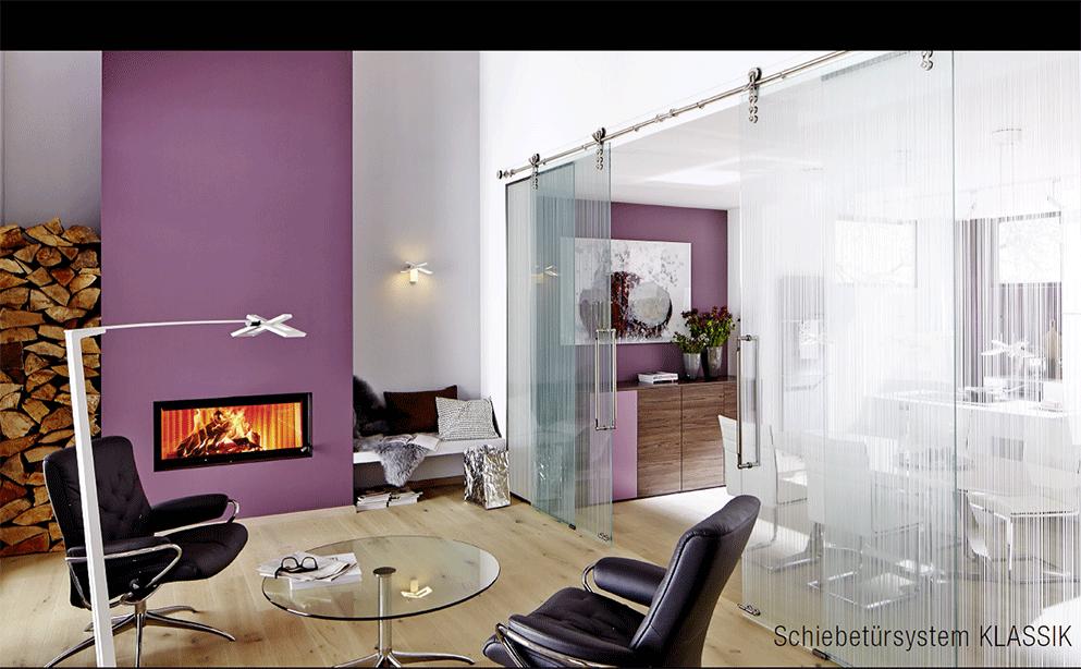 Glazen schuifdeur op maat bij dutch glass design in vogelenzang - Afscheiding glas keuken woonkamer ...