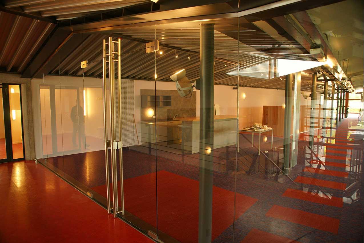 project interieurglas Hobaho lisse