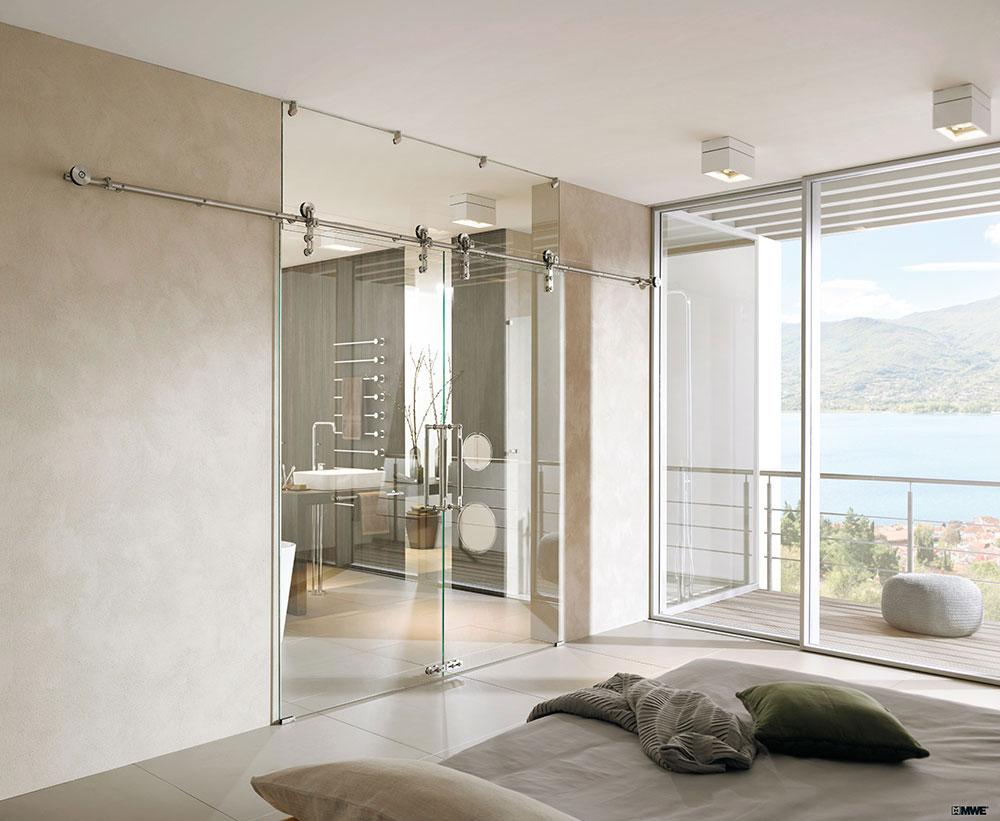 Glazen Schuifdeur Badkamer : Een glazen schuifdeur in uw woning alles op maat gemaakt