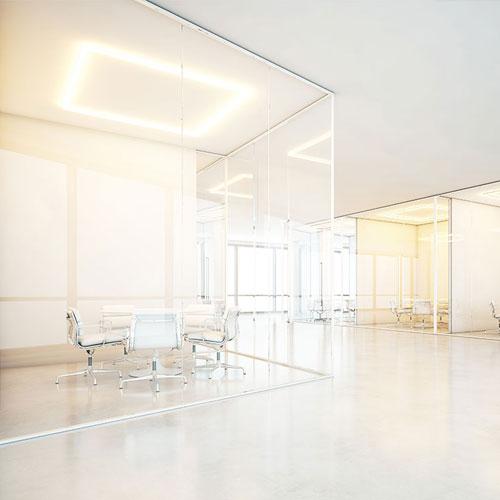 Dutch-Glass-Design -scheidingswand